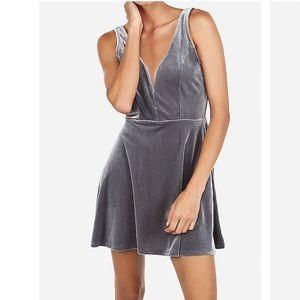 NWT Velvet Deep V Wire Skort Dress